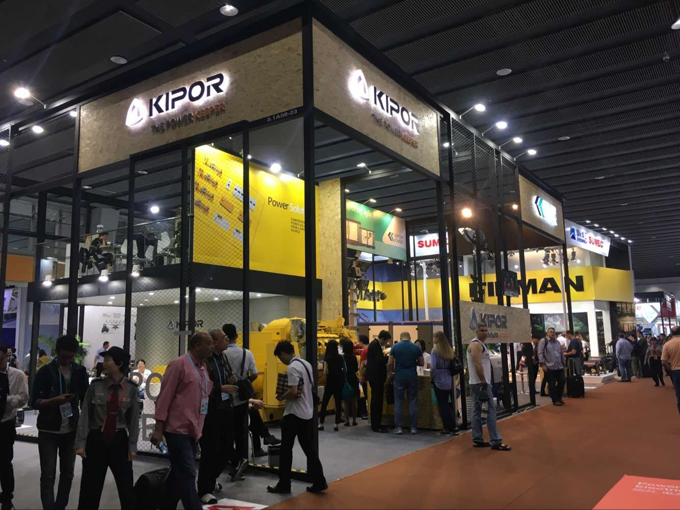 More Close to Customer Needs, More Accurate Market Positioning. KIPOR, the 121th Canton Fair