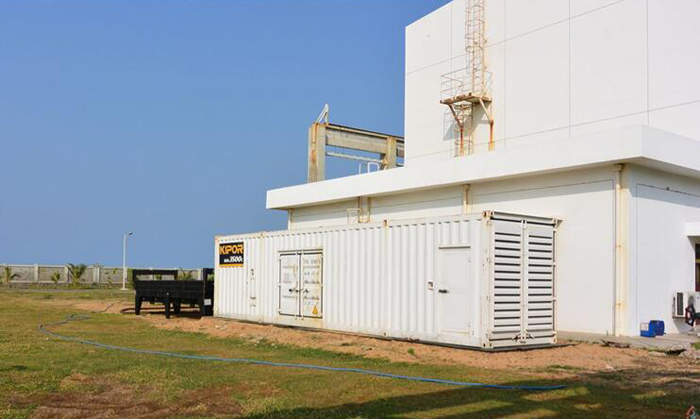 Overseas service experience of KIPOR helps electric power development in Sri Lanka