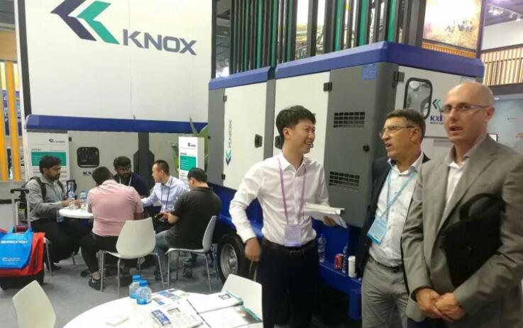 Live report of exhibition | President of KIPOR Group Xiao Henglin appears in the exhibition