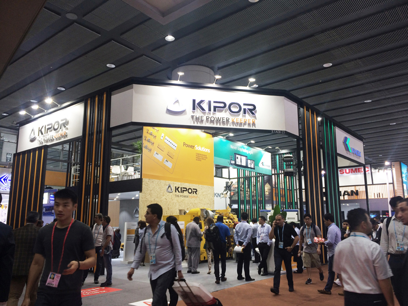 Exhibition Report | KIPOR Group appears in 2017 Autumn Canton Fair grandly